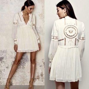 Free People | Im Dreamland Mini Dress Ivory 4